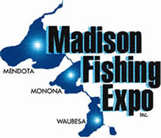 madison fishing expo logo
