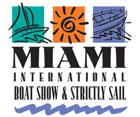 logo for miami boat show and miami strictly sail