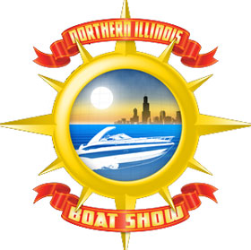 logo for the norhtern illinois-grayslake-boat-show