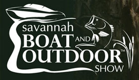 logo for savannah boat show