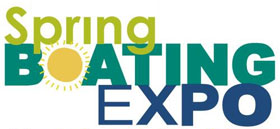 Logo for Spring Boating Expo - Novi