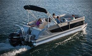 Crest Pontoon Boats image