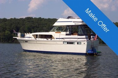 Used Boats: Chris-Craft 41 Commander Aft Cabin for sale