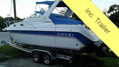 Used Boats: Donzi 2750 LXC for sale