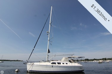 Used Boats: Hunter 41 Deck Saloon Sailboat for sale