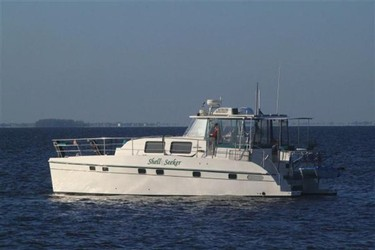 Used Boats: ENDEAVOUR CATAMARAN INC Trawlercat 44 for sale