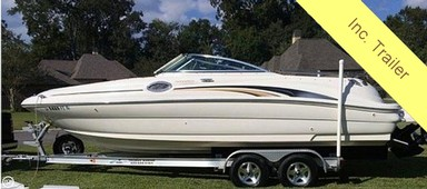 Used Boats: Sea Ray 240 Sundeck for sale