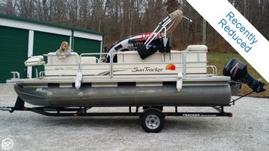 Used Boats: Sun Tracker Classic Party Barge 200 for sale