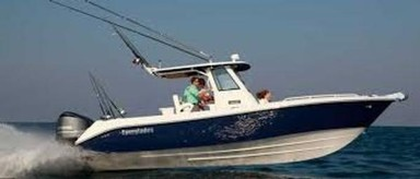 Used Boats: Everglades 295CC Navy Blue Hull for sale