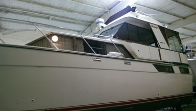 Used Boats: Pacemaker 40 AFT CABIN for sale