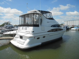 Used Boats: Carver 396 AFT CABIN for sale