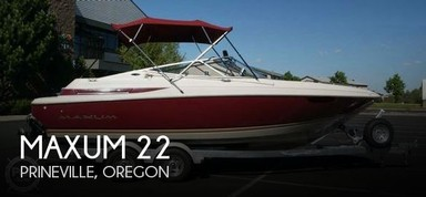 Used Boats: Maxum 2300 SR for sale