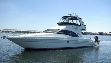 Used Boats: Sea Ray 420 Sedan Bridge for sale