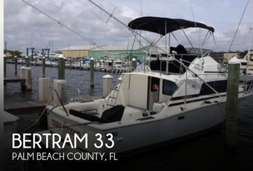 Used Boats: Bertram 33 for sale