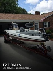 Used Boats: Triton 18 for sale