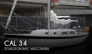 Used Boats: CAL 34 for sale