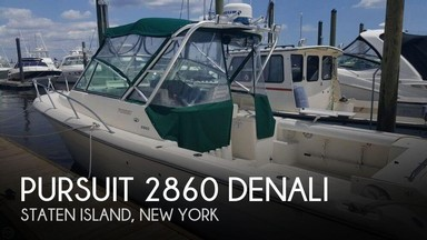Used Boats: Pursuit 2860 Denali for sale
