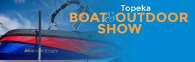 Topeka Boat and Outdoor Show logo