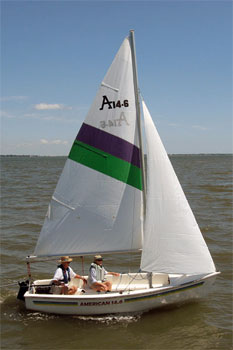 american sail sailboat