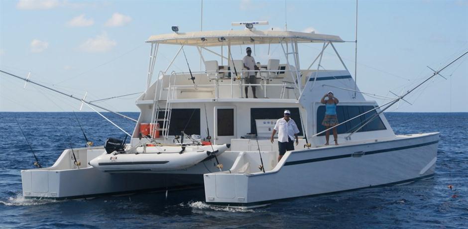 60' CUSTOM Mick Jarrod PowerCat Sportfisher/Dive Boat