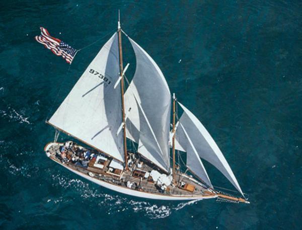 61' Alden Staysail Schooner