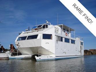 Used Boats: Custom Built Catamaran for sale