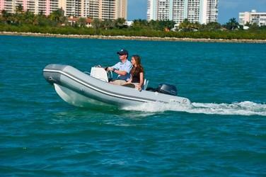 Used Boats: Zodiac Bayrunner 340 PVC 25hp In Stock for sale
