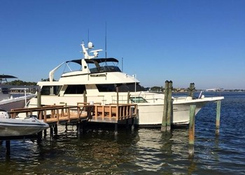 Used Boats: Hatteras 67 Cockpit Motor Yacht for sale