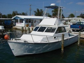 Used Boats: Morgan 31 Off Shore Fishing Cuddy for sale