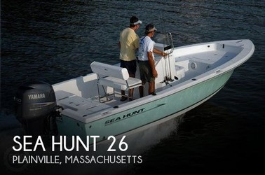 Used Boats: Sea Hunt 26 Gamefish for sale