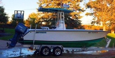 Used Boats: Contender 21 OPEN FISH for sale