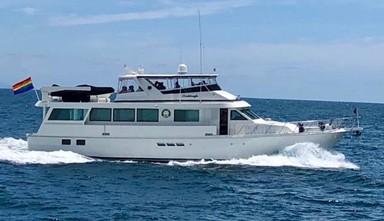 Used Boats: Hatteras 74 Cockpit Motor for sale