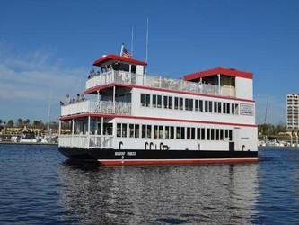 Used Boats: Custom Triple Deck Dinner River Boat for sale