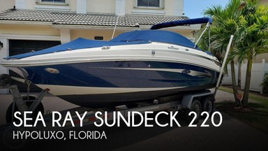 Used Boats: Sea Ray Sundeck 220 for sale