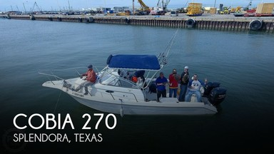 Used Boats: Cobia 270 for sale