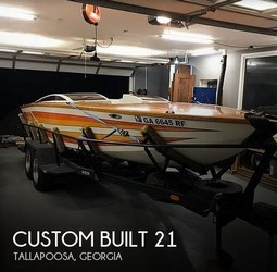 Used Boats: Custom Built 21 for sale