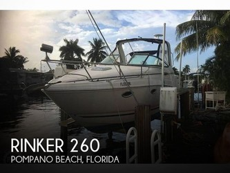 Used Boats: Rinker 260 for sale