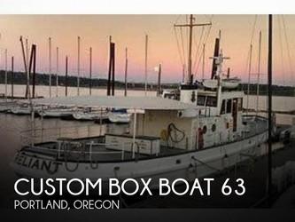 Used Boats: Custom Box Boat 63 for sale