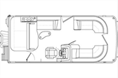 Used Boats: Bennington 21 SX SWINGBACK for sale