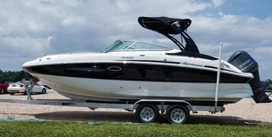 Used Boats: Hurricane SunDeck for sale