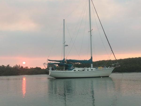 36' Allied Princess Ketch