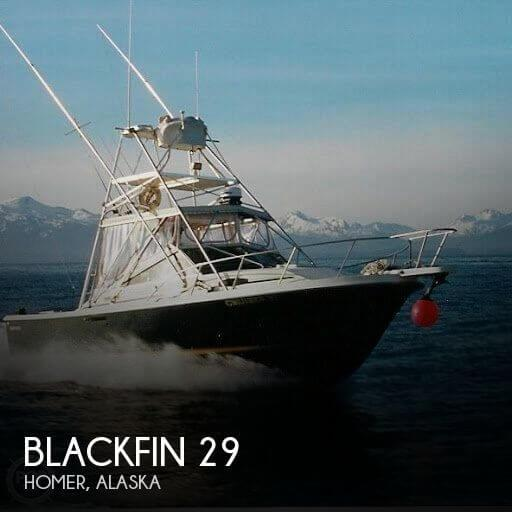 29' Blackfin 29 Sportfisherman