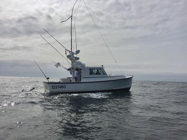 38' Duffy 38 Downeast Tuna Rigged