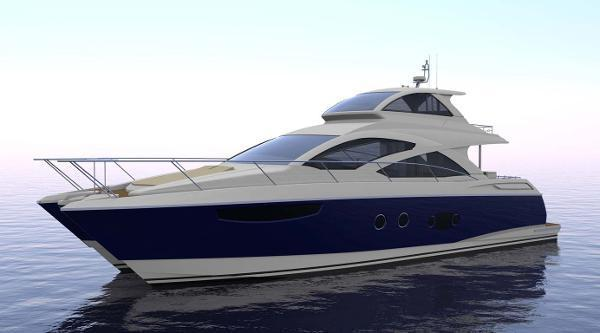 65' Mares 65 Catamaran Sky Lounge