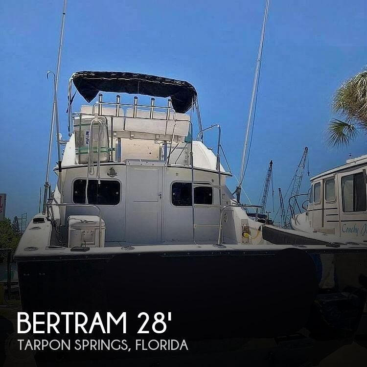 28' Bertram 28 Flybridge Cruiser