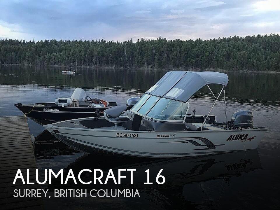 16' Alumacraft Classic 165
