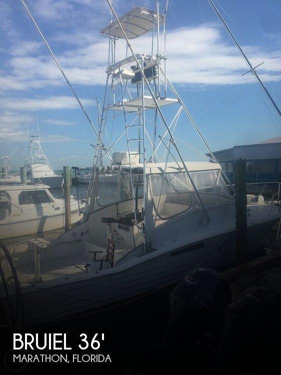 36' Bruiel Express Sportfish 36'