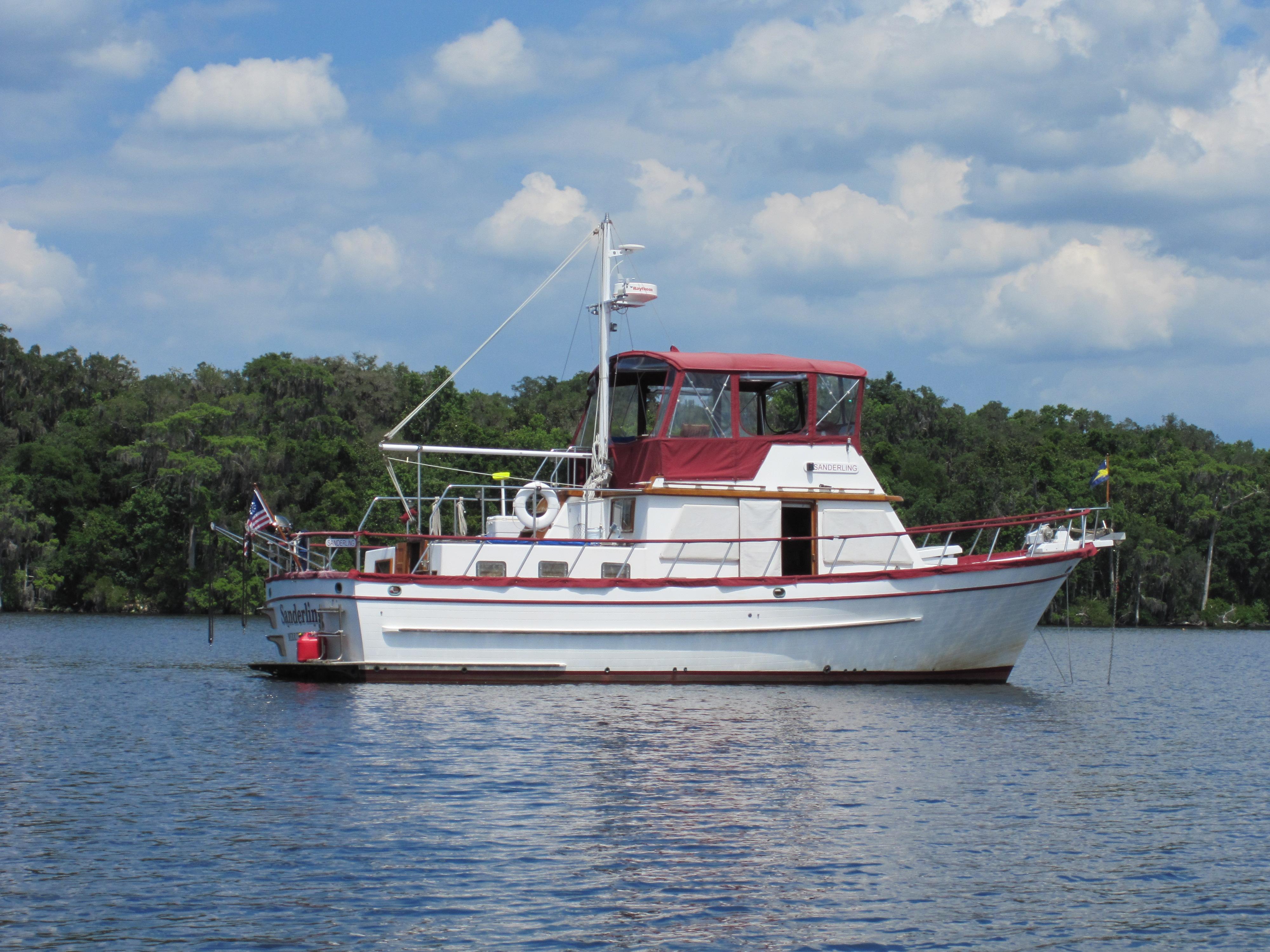 41' DeFever Trawler